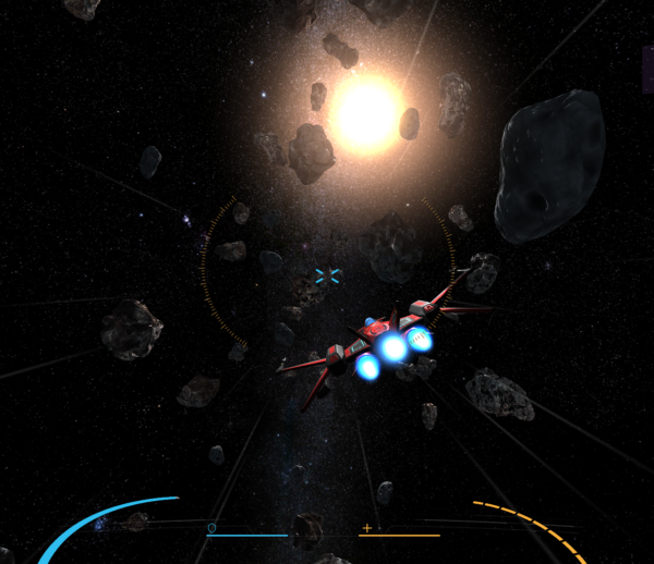 WebGL – Space Battle prototype